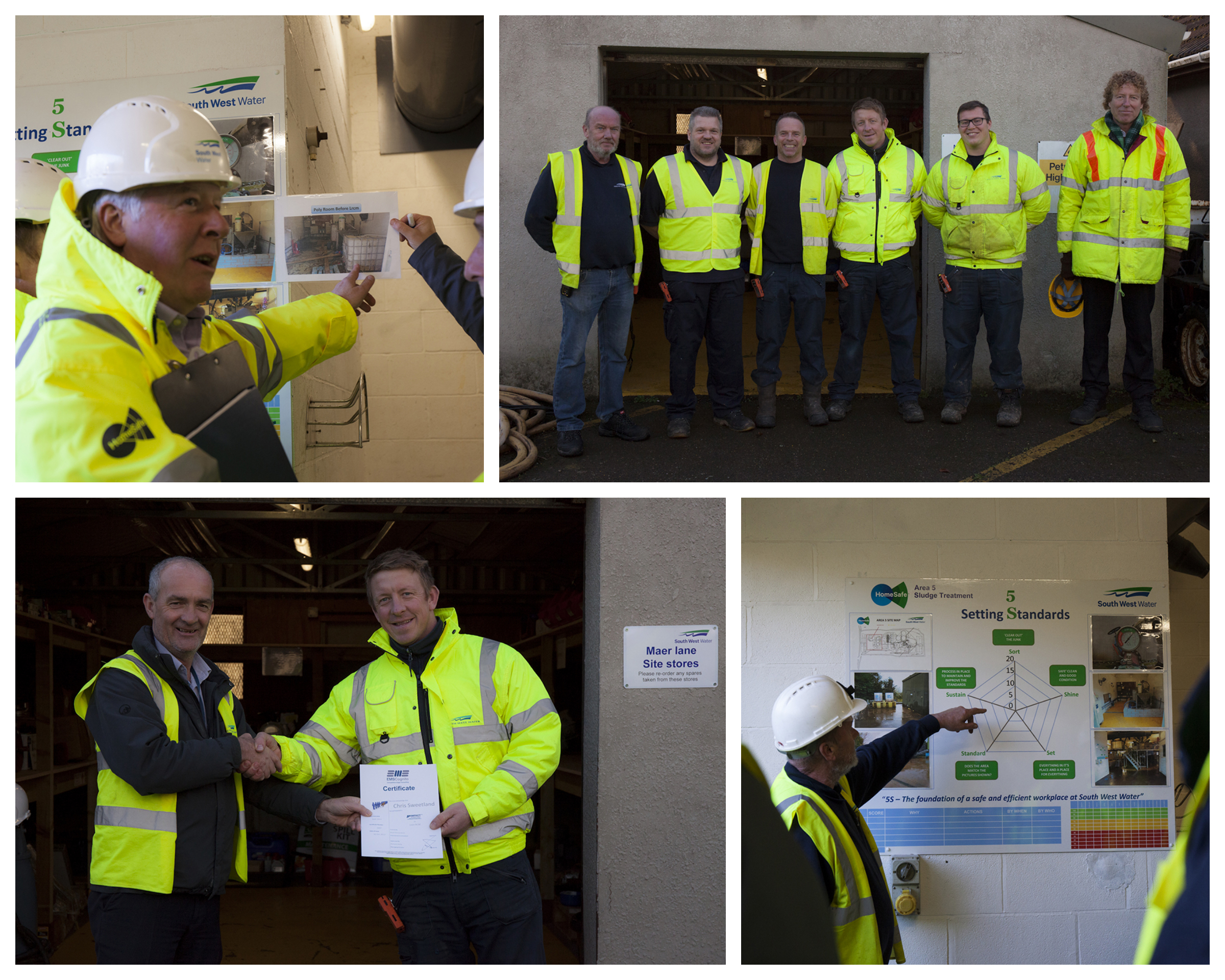 Review day IMPACT Masterclass™ Lean RCM programme at South West Water Exmouth