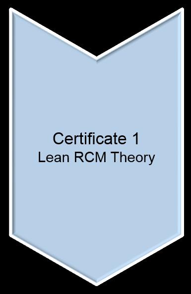 Lean RCM Certificate 1