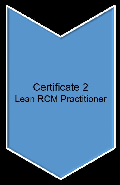 Lean RCM Certificate 2