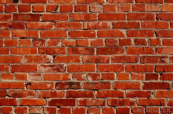 how to break down a brick wall