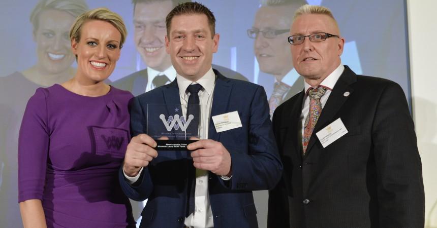 Viridor receiving best maintenance award photo
